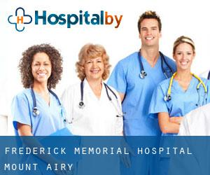 Frederick Memorial Hospital Mount Airy